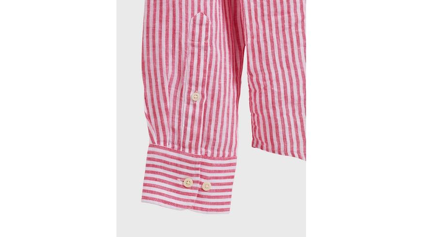 The Linen Chambray Stripe Shirt
