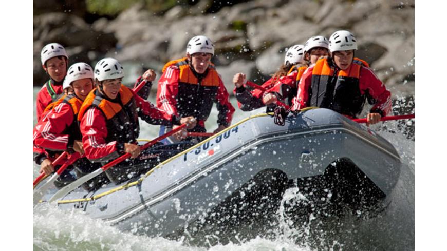 Extrem-Rafting im Oetztal