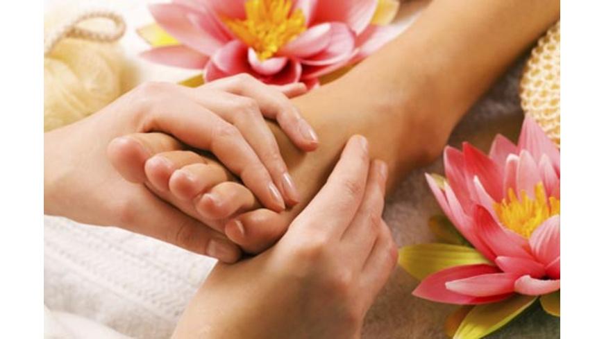 Fussreflexzonen-Massage