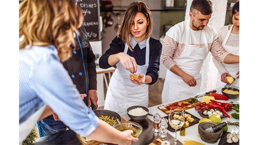 Gourmet-Kochkurs mit Weinprobe Raum Offenburg