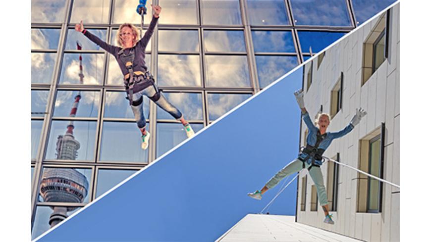 Adrenalin im Doppelpack: Base Flyer & House Running