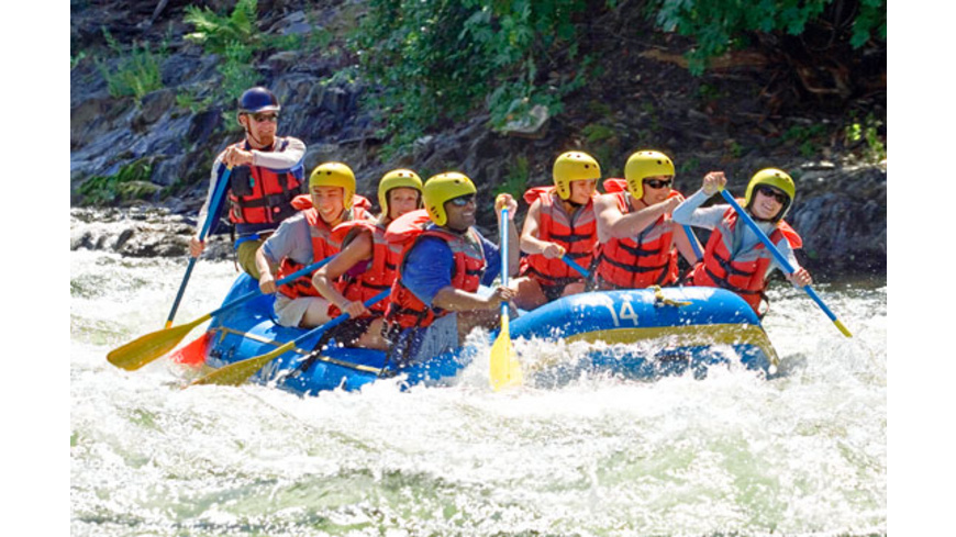 Isar-Rafting für Einsteiger