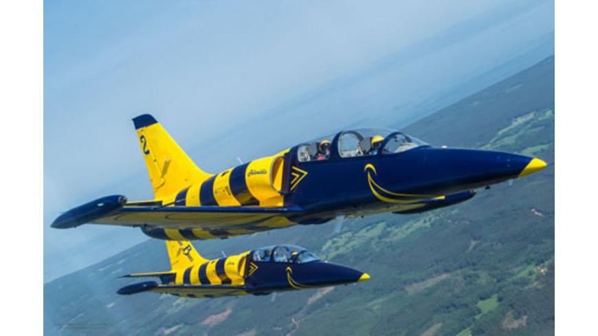Jet-Kunstflug in Lettland