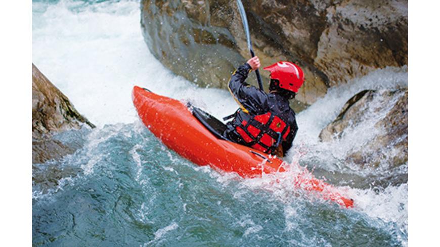 Kajak Abenteuer-Wochenende im Mangfalltal