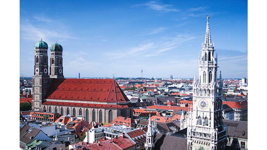 Kurzurlaub München mit Altstadt- & Viktualienmarkt-Tour für 2