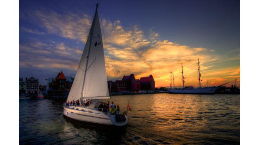 Sternenfahrt-Nachtsegeln in Stralsund
