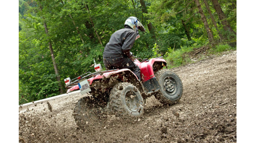 Quad Offroad Parcours bei Worms
