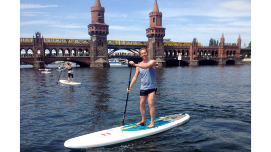 Stand Up Paddling Berlin Osthafen