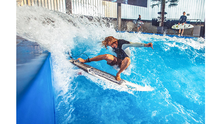 Indoor Surfen - Arena München