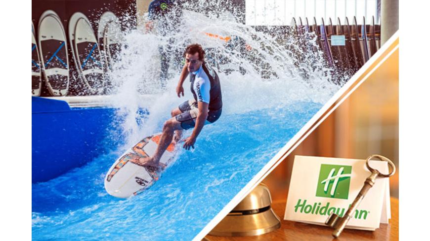 Surfen & Übernachtung für 2 - Arena München