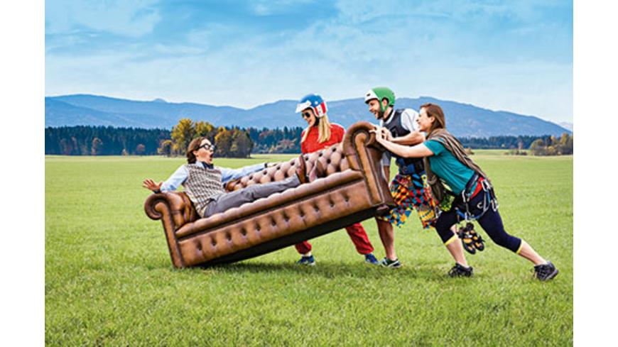 Wahlgutschein 'Runter vom Sofa'