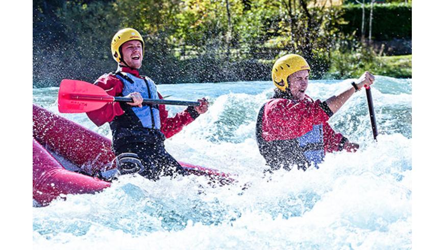 Wildwasser-Kanutour Raum Bad Toelz