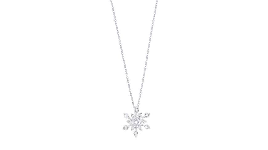 Kette - Crystal Flower