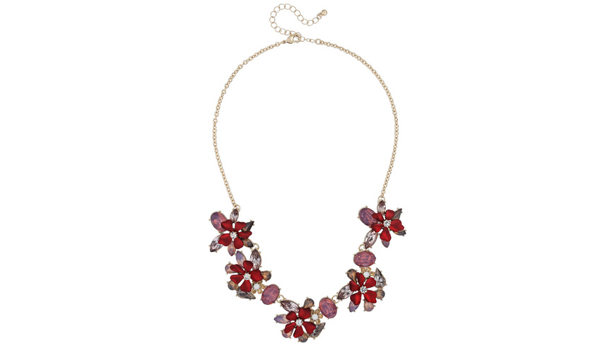 Kette - Red Flowers