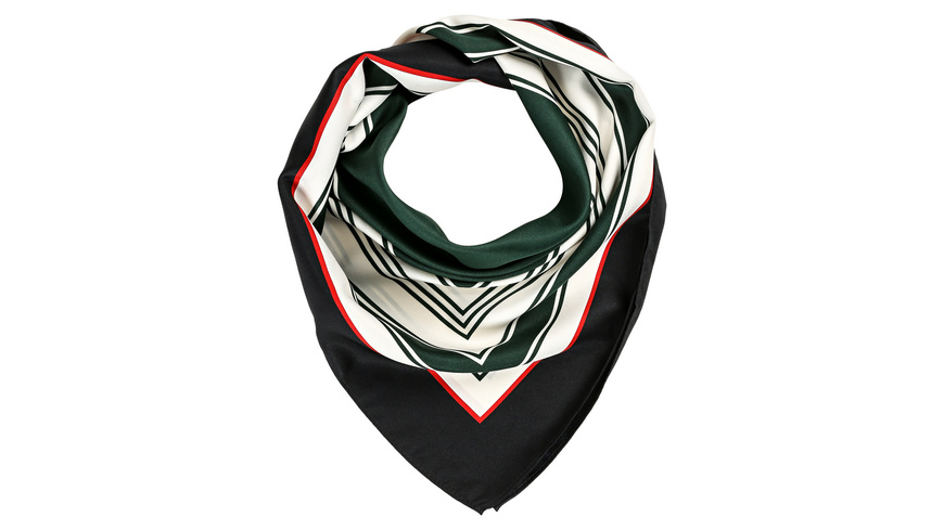 Bandana - Green Stripes