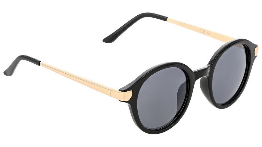 Sonnenbrille - Retro Black