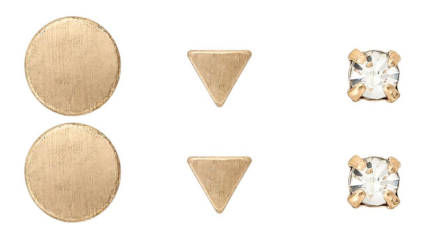 Ohrstecker - Three Types