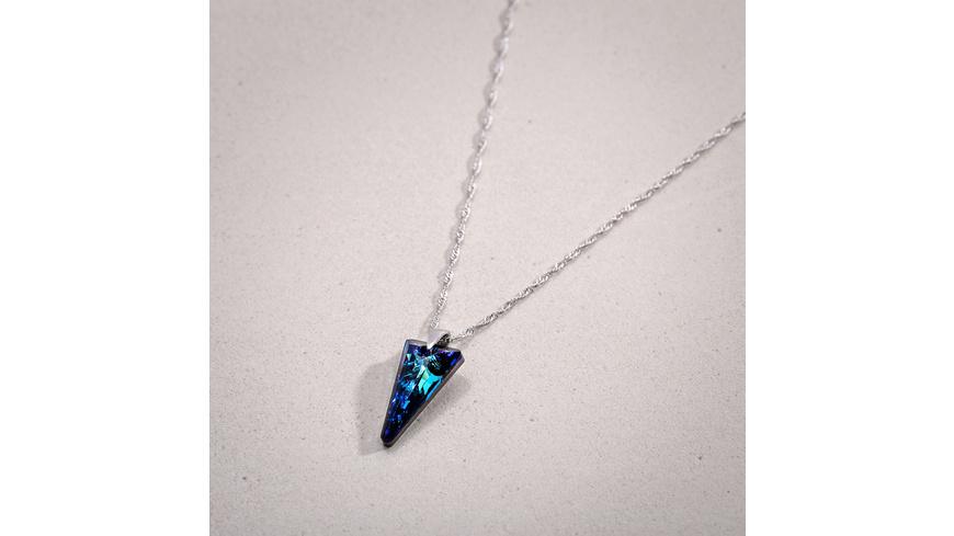 Kette - Blue Triangle