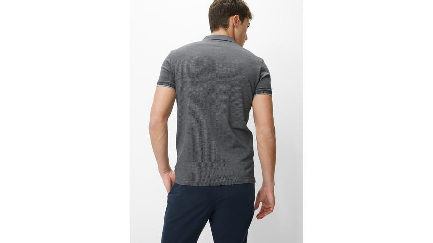 Polo-Shirt Jersey Jaquard