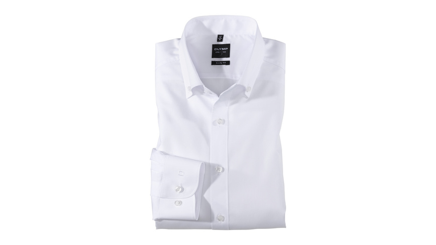 OLYMP Level Five Hemd, body fit, Button-down