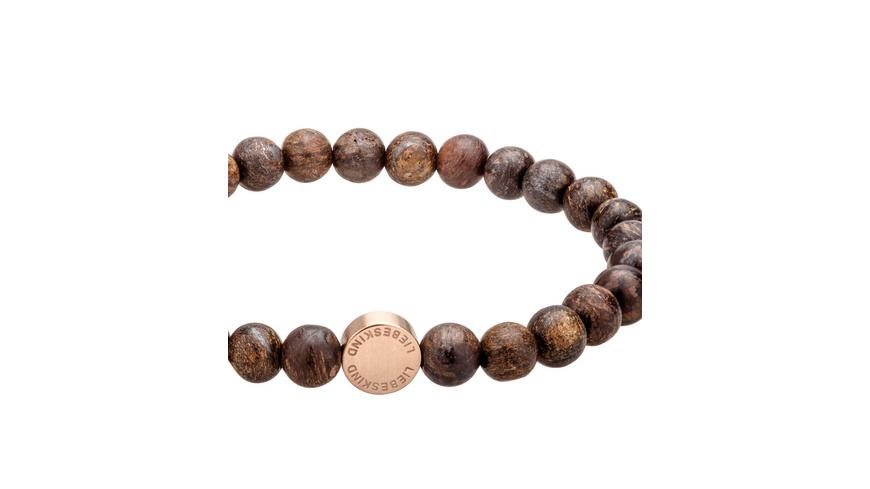 6mm Beads mit Logotag - Armband