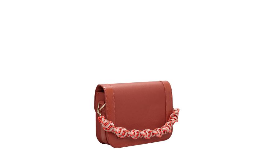 Tasche Clasp Crossbody M - Umhängetasche mit breitem Textilgurt und geknüftem Henkel