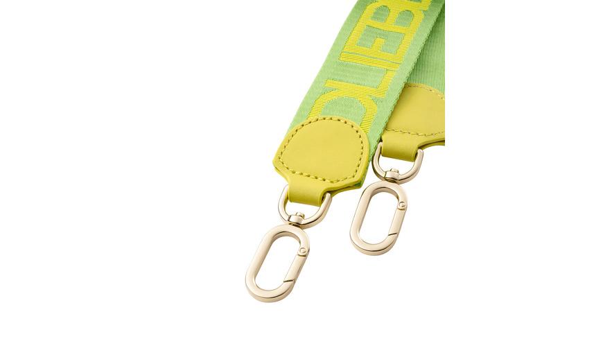 gewebter Schulterriemen mit Logoschriftzug - MixeDStrap Webbing Strap