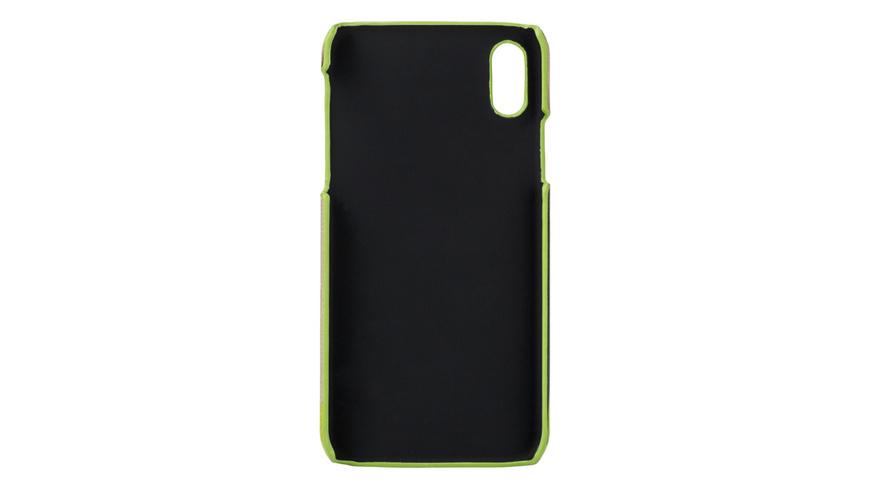 Smartphone-Hülle aus bedrucktem Leder - Basic Dobby iPhone X