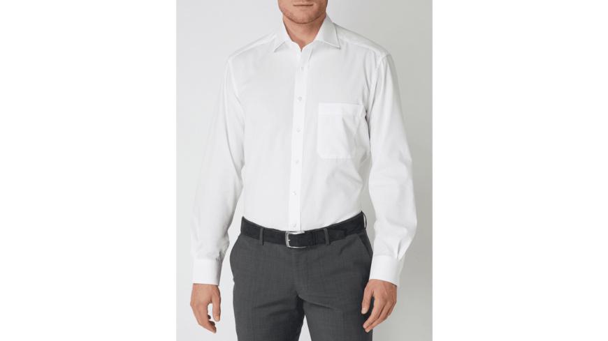 Comfort Fit Business Hemd - bügelfrei
