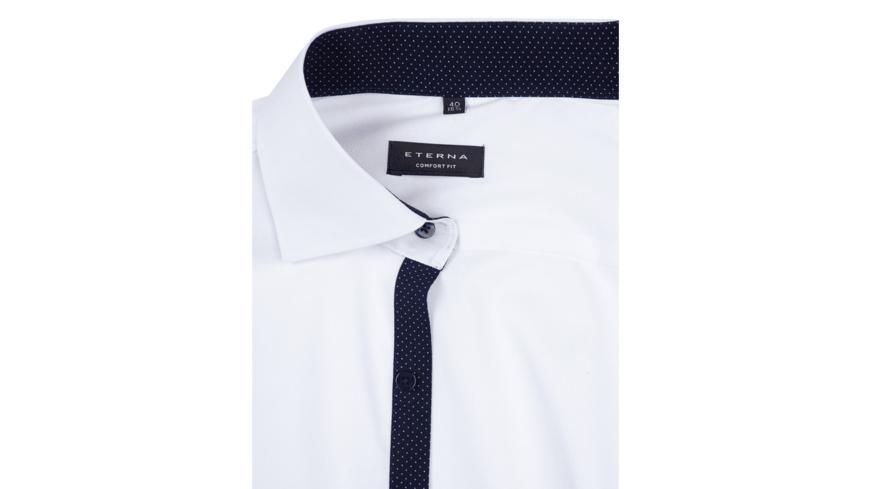 Comfort Fit Business Hemd mit Brusttasche
