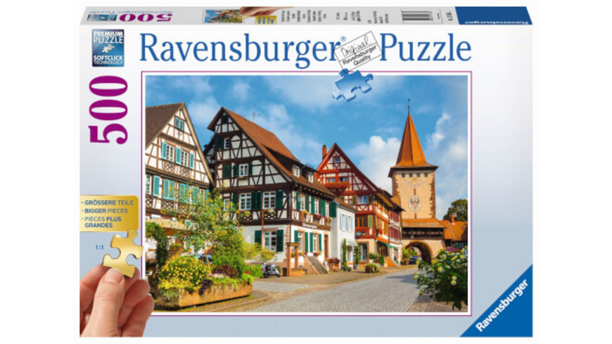 Ravensburger 136865 Puzzle: Gengenbach im Kinzigtal 500 Teile