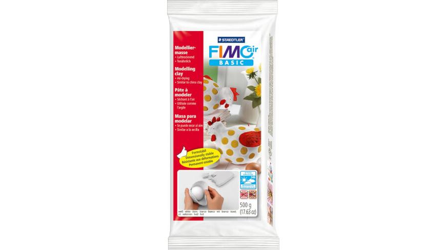 FIMO air basic weiss 500g lufthärtend