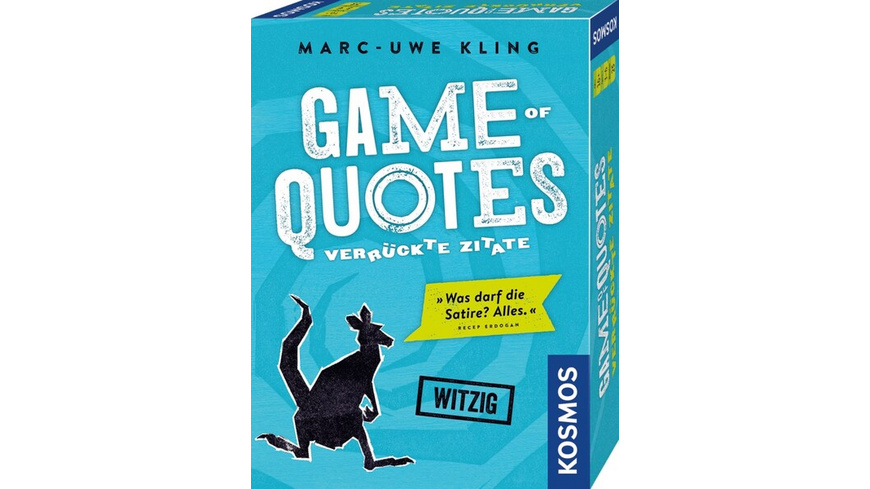 KOSMOS 692926 - Game of Quotes, Marc Uwe Kling