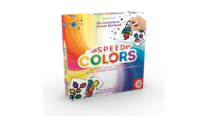 Carletto 646193 - Gamefactory, Speed Colors, Merken, Malen, Punkten