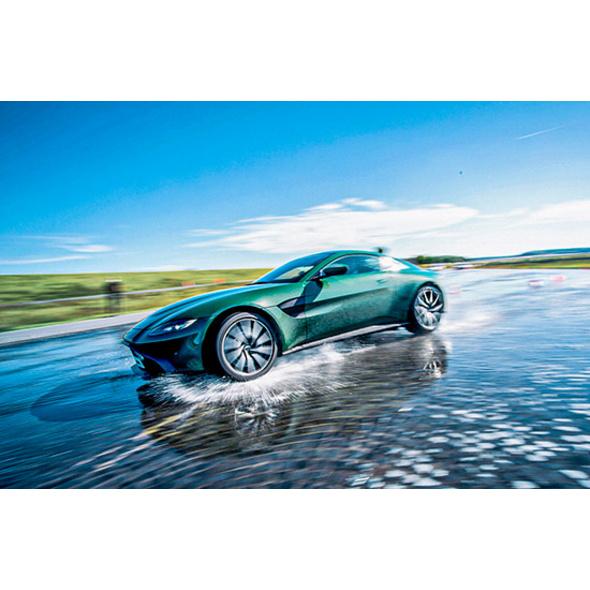 Aston Martin Agenten-Training in Heidelberg