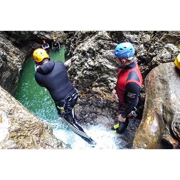 Canyoning Einsteigertour am Tegernsee