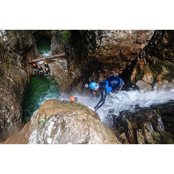 Canyoning Tour am Tegernsee & Seesauna
