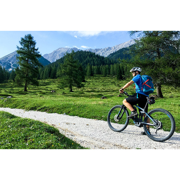 E-Bike-Tour auf die Rotmoosalm