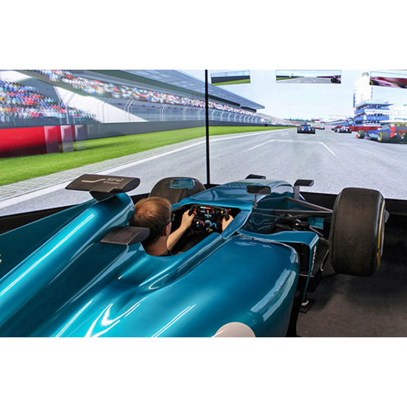 Formel 1 Rennsimulator in Berlin (60 Min.)