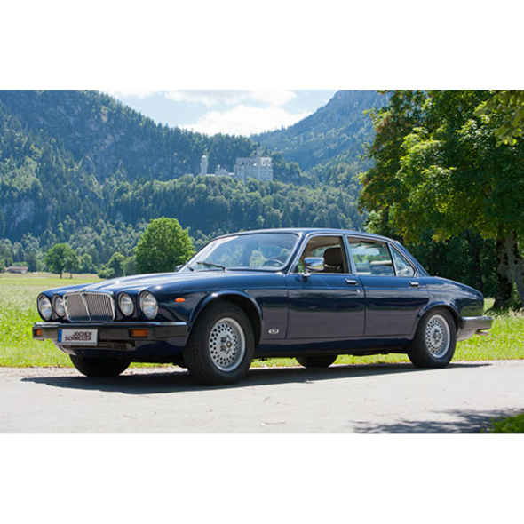 Jaguar XJ6 fahren im Allgäu