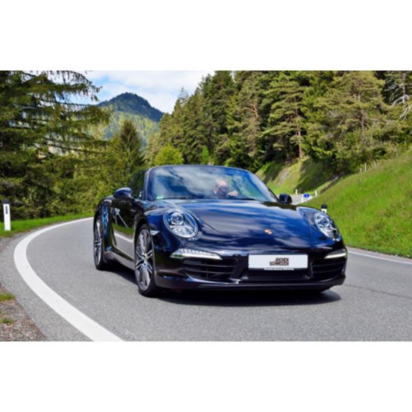 Porsche 911 Cabrio-Tour im Allgäu