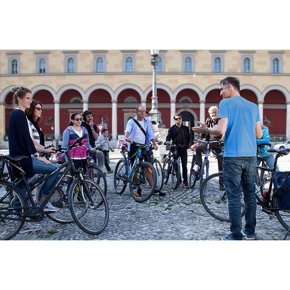 Stadtführung mit dem Fahrrad durch München