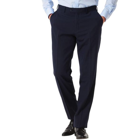 Anzughose, 1/1-Länge, Regular Fit, Bügelfalte, uni, für Herren