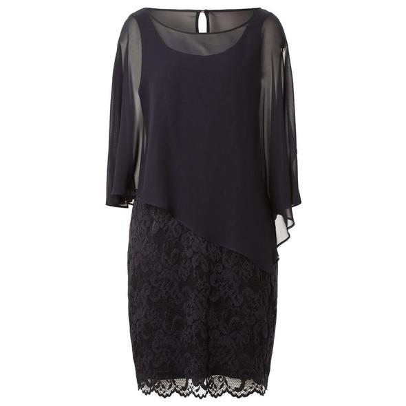 Kleid mit Layer-Effekt