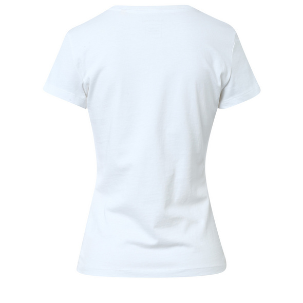 Logoshirt aus Baumwolle