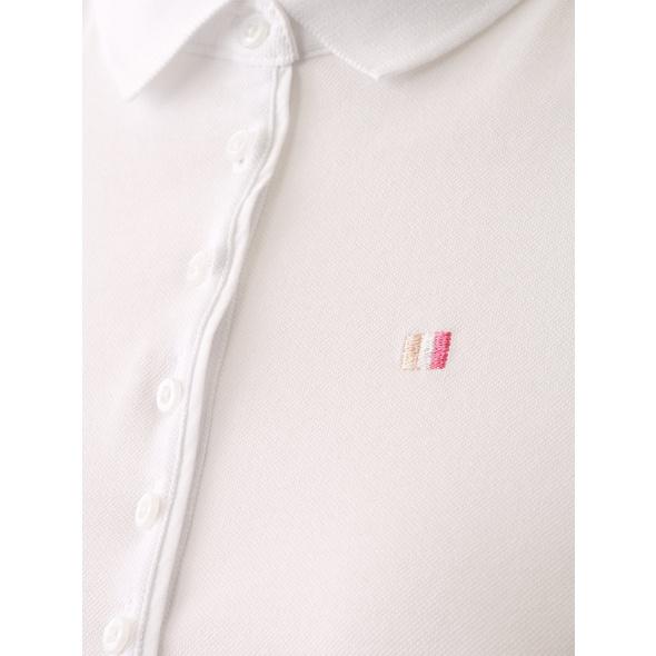 Poloshirt mit Labelstickerei