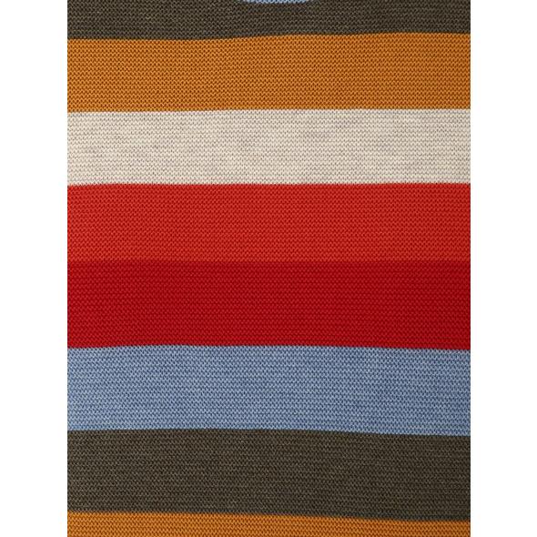Strickpullover mit Multicolor-Streifen