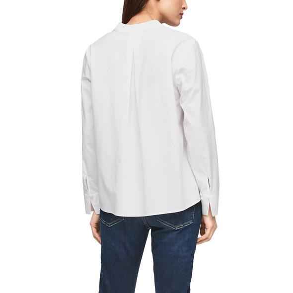 Blusenshirt aus Lyocellmix - Blusenshirt