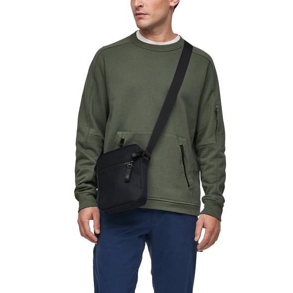 Schultertasche mit Reißverschluss - Tasche
