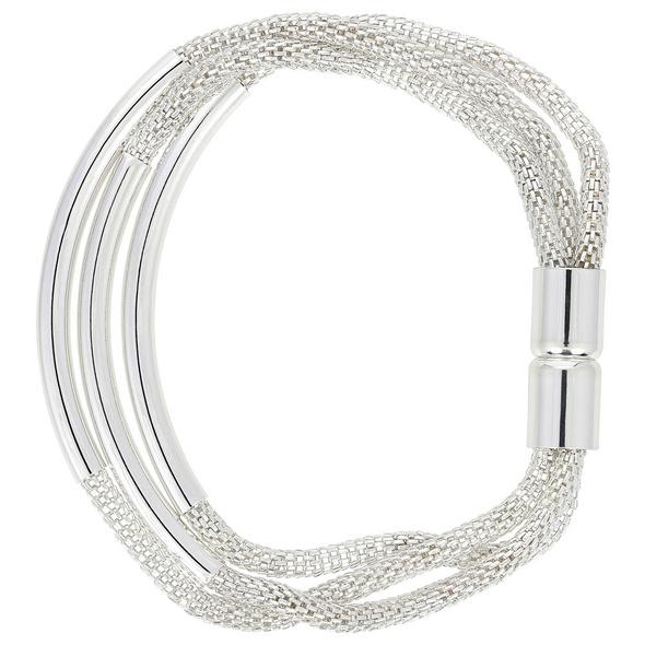 Armband - Silver Mesh